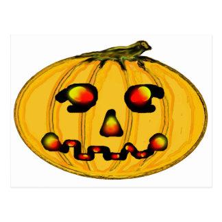 El jGibney Pumpkinfirey de la serie del artista Postales