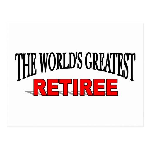 El jubilado más grande del mundo postal