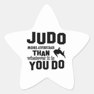 El JUDO es impresionante Pegatina En Forma De Estrella