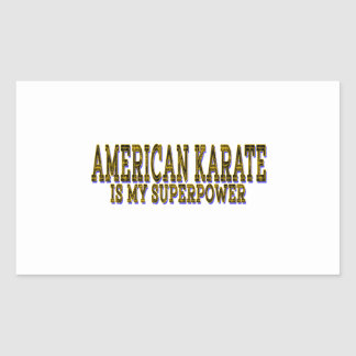 El judo es mi karate americano pegatina