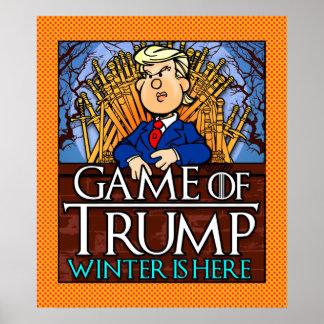 El juego del invierno del triunfo está aquí póster