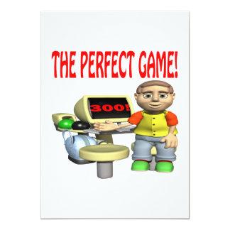 El juego perfecto invitación 12,7 x 17,8 cm