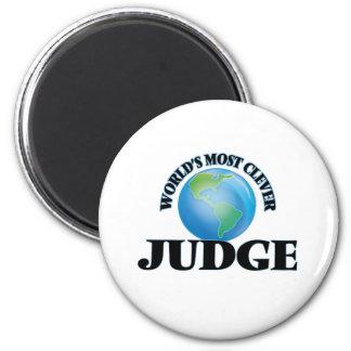 El juez más listo del mundo imán redondo 5 cm