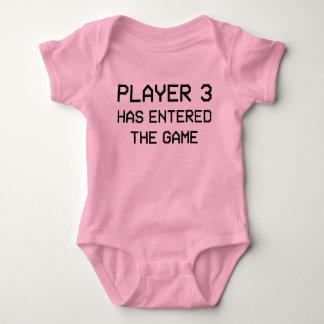El jugador 3 ha inscrito a The Game Body Para Bebé
