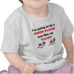 El jugador de póker tiene gusto de mi papá camiseta