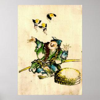 El jugar con los duendecillos 1840 poster