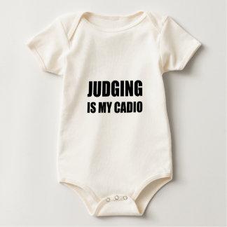 El juicio es mi cardiio body para bebé