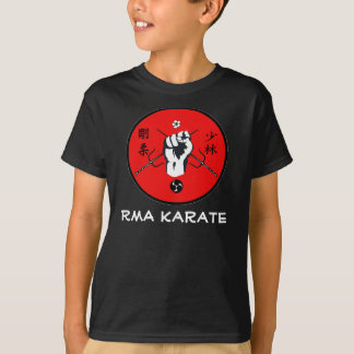 El karate de RMA embroma la camiseta