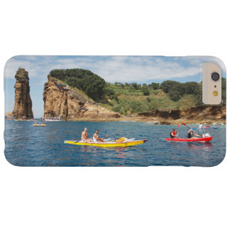 El Kayaking en Azores Funda Barely There iPhone 6 Plus