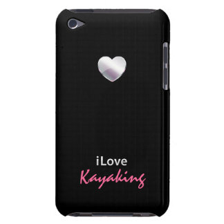 El Kayaking lindo iPod Case-Mate Protectores