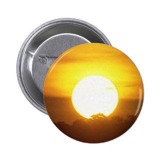 el kground añade la puesta del sol CONOCIDA de la Chapa Redonda De 5 Cm