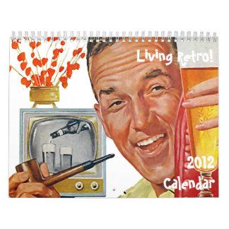 El kitsch Bitsch: Calendario retro vivo 2012