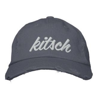 El kitsch Bitsch©: Casquillo bordado kitsch Gorras Bordadas