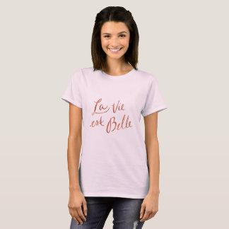El La compite a la belleza del Est - camiseta