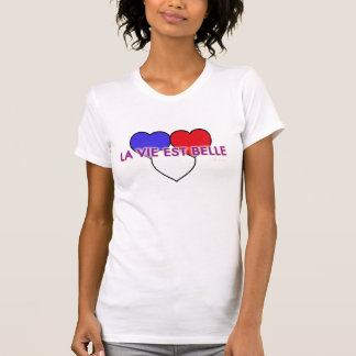 El La compite a la belleza del Est - corazones Camisetas