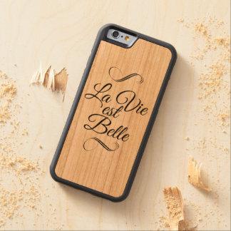 El La compite a la belleza del est Funda De iPhone 6 Bumper Cerezo