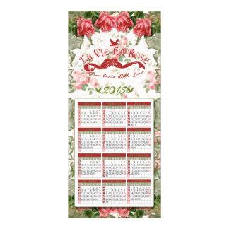El La compite el En subió - calendario, postal, se Lona