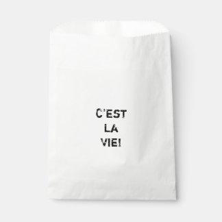 """¡El """"La de C'est compite! """" Bolsa De Papel"""