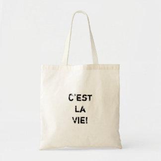"""¡El """"La de C'est compite! """" Bolsa Tela Barata"""