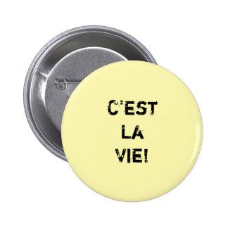 """¡El """"La de C'est compite! """"Cita de Inpirational Chapa Redonda De 5 Cm"""
