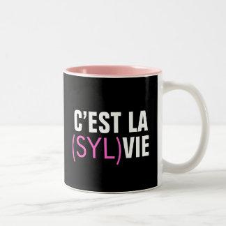 El la de C'est (Syl) compite - el la de C'est Taza De Dos Tonos