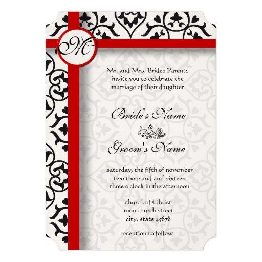 El lado elegante del damasco confina el boda de la