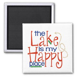 El lago es mi imán feliz del lugar