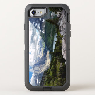 El lago ocultado pasa por alto el Parque Nacional Funda OtterBox Defender Para iPhone 8/7