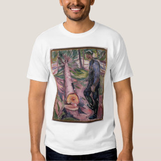El leñador camiseta