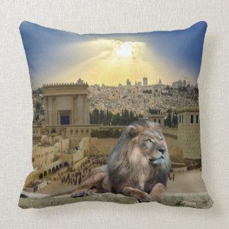 El león de Judah Cojín Decorativo