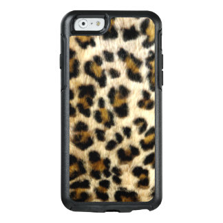 El leopardo negro fresco mancha la caja del iPhone Funda Otterbox Para iPhone 6/6s