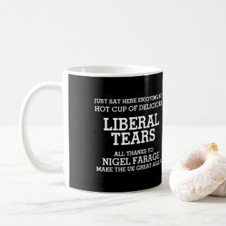 El liberal rasga gracias a Nigel Farage Brexit Taza De Café