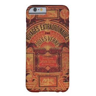 El libro Extraordianary de Jules Verne viaja Funda Barely There iPhone 6