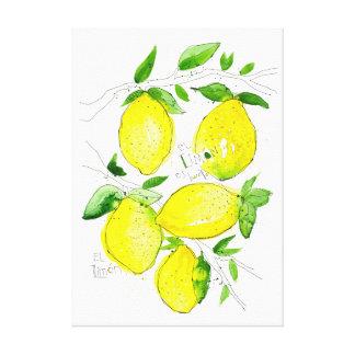 EL Limon Impresión En Lienzo