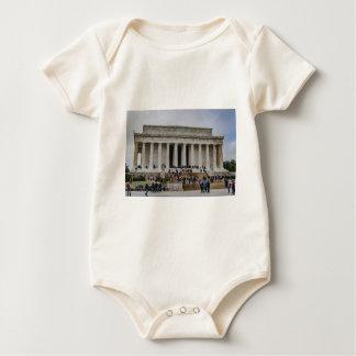 El Lincoln memorial Body Para Bebé