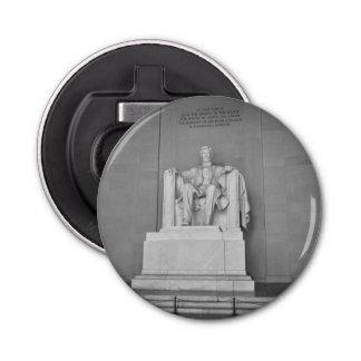 El Lincoln memorial en Washington DC Abrebotellas Redondo