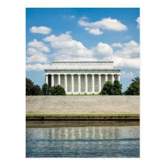 El Lincoln memorial Postal