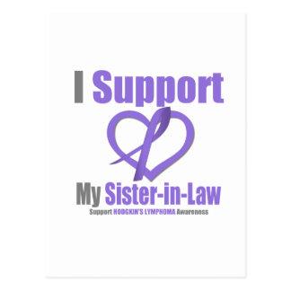 El linfoma de Hodgkin apoyo a mi cuñada Postal