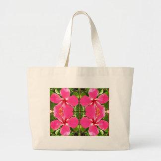El lirio rosado de Lilly florece a revendedores de Bolsa De Mano