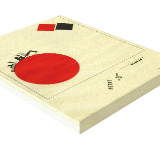 EL Lissitzky- que vuela a la tierra de una distanc Lona Estirada Galerías