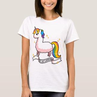 El Llamacorn pasado Camiseta