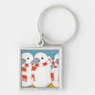 """El llavero lindo del pingüino """"me toma casero con"""