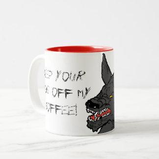 El lobo consiguió mi taza de café