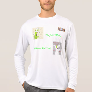 ¡El lobo del comodín va A COMERLE!!!! Camiseta