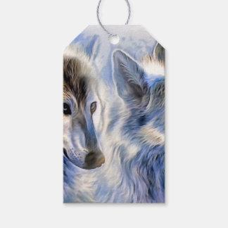 El lobo del hielo etiquetas para regalos