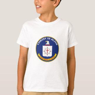 "El logotipo Cia ""Cristo está vivo "" Camiseta"