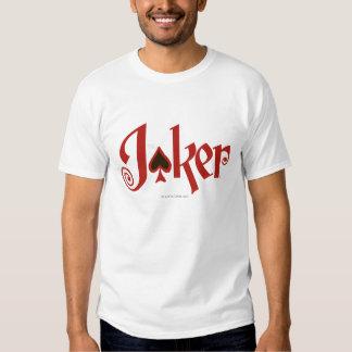 El logotipo del naipe del comodín camiseta
