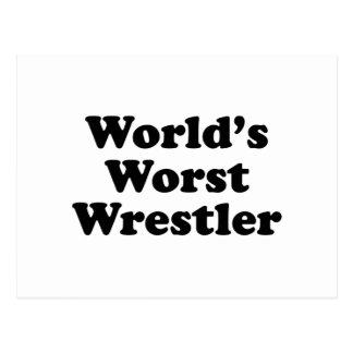 El luchador peor del mundo postal