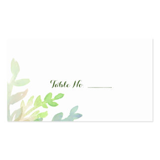 El lugar soñador del boda del espacio en blanco tarjetas de visita