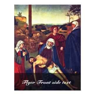 El luto de Cristo de Christus Petrus Folleto 21,6 X 28 Cm